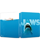 Jaws: 45th Anniversary Edition: Limited Edition (4K Ultra HD/Blu-ray)(SteelBook)