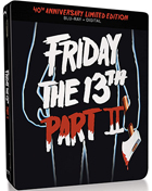Friday The 13th: Part 2: 40th Anniversary Limited Edition (Blu-ray)(SteelBook)