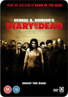 George A. Romero's Diary Of The Dead: Limited Edition 2 Disc Steelbook Metal Packaging (PAL-UK)