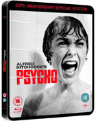 Psycho: 50th Anniversary Edition  (Blu-ray-UK)(Steelbook)