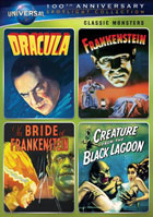 Classic Monsters Spotlight Collection: Universal 100th Anniversary: Dracula / Frankenstein / The Bride Of Frankenstein / Creature From The Black Lagoon