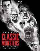 Universal Classic Monsters: The Essential Collection (Blu-ray Book)