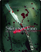 Sweeney Todd: The Demon Barber Of Fleet Street: Limited Edition (Blu-ray-GR)(SteelBook)