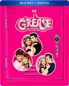 Grease Collection: Limited Edition (Blu-ray)(SteelBook): Grease / Grease 2 / Grease: Live!