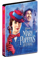 Mary Poppins Returns: Limited Edition (4K Ultra HD/Blu-ray)(SteelBook)