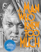 Man Who Knew Too Much: Criterion Collection (Blu-ray)