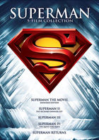 Superman: 5 Film Collection: Superman: The Movie / Superman II / Superman III / Superman IV: The Quest For Peace / Superman Returns