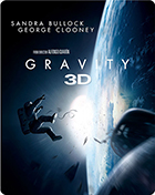 Gravity (Blu-ray 3D-UK/Blu-ray-UK)(Steelbook)