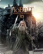 Hobbit: The Desolation Of Smaug 3D: Limited Edition (Blu-ray 3D-UK/Blu-ray-UK)(Steelbook)