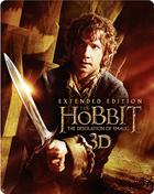 Hobbit: The Desolation Of Smaug 3D: Extended Edition (Blu-ray 3D-UK/Blu-ray-UK)(Steelbook)