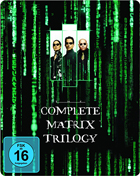 Complete Matrix Trilogy: Limited Edition (Blu-ray-GR)(SteelBook): The Matrix / The Matrix Reloaded / The Matrix Revolutions
