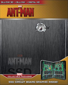 Ant-Man: Limited Edition (Blu-ray 3D/Blu-ray)(SteelBook)