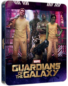 Guardians Of The Galaxy: Lenticular Limited Edition (Blu-ray 3D-UK/Blu-ray-UK)(SteelBook)