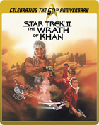 Star Trek II: The Wrath Of Khan: Director's Cut: Limited Edition 50th Anniversary (Blu-ray-UK)(SteelBook)