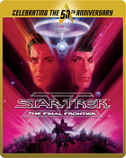 Star Trek V: The Final Frontier: Limited Edition 50th Anniversary (Blu-ray-UK)(SteelBook)
