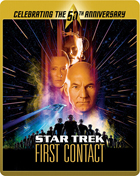 Star Trek VIII: First Contact: Limited Edition 50th Anniversary (Blu-ray-UK)(SteelBook)