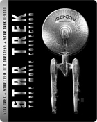 Star Trek Trilogy Collection: Limited Edition (Blu-ray 3D-UK/Blu-ray-UK)(SteelBook): Star Trek / Star Trek Into Darkness 3D / Star Trek Beyond 3D