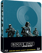 Rogue One: A Star Wars Story: Limited Edition (Blu-ray 3D-SP/Blu-ray-SP)(SteelBook)