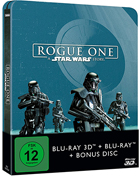 Rogue One: A Star Wars Story: Limited Edition (Blu-ray 3D-GR/Blu-ray-GR)(SteelBook)