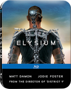 Elysium: Limited Edition (2013)(Blu-ray-UK/DVD:PAL-UK)(SteelBook)