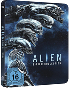 Alien 6 Film Collection: Limited Edition (Blu-ray-GR)(SteelBook): Alien / Aliens / Alien3 / Alien: Resurrection / Prometheus / Alien: Covenant