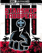 Starship Troopers: 20th Anniversary: Limited Edition (4K Ultra HD/Blu-ray)(SteelBook)