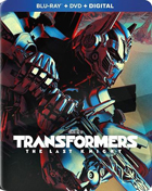 Transformers: The Last Knight: Limited Edition  (Blu-ray/DVD)(SteelBook)