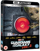 Guardians Of The Galaxy Vol. 2: Limited Edition (4K Ultra HD-UK/Blu-ray-UK)(SteelBook)