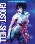 Ghost In The Shell (2017)(Blu-ray/DVD)(SteelBook)