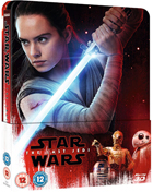 Star Wars Episode VIII: The Last Jedi 3D: Limited Edition (Blu-ray 3D-UK/Blu-ray-UK)(SteelBook)