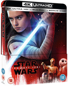 Star Wars Episode VIII: The Last Jedi: Limited Edition (4K Ultra HD-UK/Blu-ray-UK)(SteelBook)