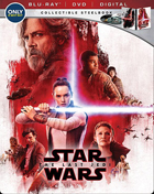 Star Wars Episode VIII: The Last Jedi: Limited Edition (Blu-ray/DVD)(SteelBook)