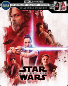 Star Wars Episode VIII: The Last Jedi: Limited Edition (4K Ultra HD/Blu-ray)(SteelBook)