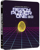 Ready Player One: Limited Edition (Blu-ray 3D-UK/Blu-ray-UK)(SteelBook)