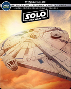 Solo: A Star Wars Story: Limited Edition (4K Ultra HD/Blu-ray)(SteelBook)