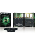 Matrix Revolutions: Limited Edition (4K Ultra HD/Blu-ray)(SteelBook)