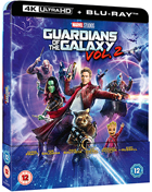 Guardians Of The Galaxy Vol. 2: Lenticular Limited Edition (4K Ultra HD-UK/Blu-ray-UK)(SteelBook)
