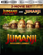 Jumanji / Jumanji: Welcome To The Jungle: Limited Edition (4K Ultra HD/Blu-ray)(SteelBook)