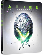 Alien: 40th Anniversary Edition: Limited Edition (4K Ultra HD/Blu-ray)(SteelBook)