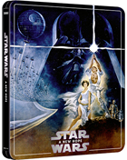 Star Wars Episode IV: A New Hope: Limited Edition (4K Ultra HD-UK/Blu-ray-UK)(SteelBook)