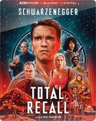 Total Recall: 30th Anniversary Edition: Limited Edition (4K Ultra HD/Blu-ray)(SteelBook)