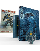 Pacific Rim: Titans Of Cult Limited Edition (4K Ultra HD-UK/Blu-ray-UK)(SteelBook)