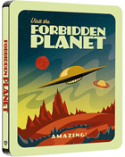Forbidden Planet: Special Poster Edition: Limited Edition (Blu-ray-UK)(SteelBook)