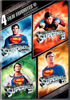 4 Film Favorites: Superman: Superman: The Movie / Superman II / Superman III / Superman IV: The Quest For Peace
