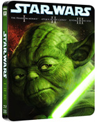 Star Wars: Prequel Trilogy: Limited Edition (Blu-ray-UK)(Steelbook): Episode I: The Phantom Menace / Episode II: Attack Of The Clones / Episode III: Revenge Of The Sith