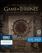 Game Of Thrones: The Complete Fifth Season: Limited Edition (Blu-ray)(SteelBook)