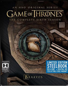 Game Of Thrones: The Complete Sixth Season: Limited Edition (Blu-ray)(SteelBook)