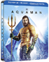 Aquaman: Limited Edition (2018)(Blu-ray 3D-SP/Blu-ray-SP)(SteelBook)