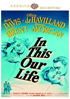 In This Our Life: Warner Archive Collection