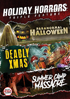 Holiday Horrors Collection: Paranormal Halloween / Deadly Xmas / Summer Camp Massacre